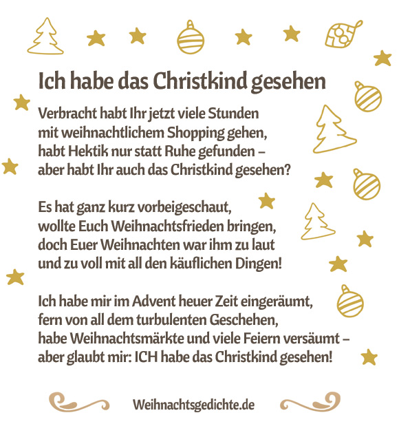 Lustige Weihnachtsgedichte Kurz.Weihnachtsgedichte Bilder Zum Versenden Als E Mail Oder Facebook