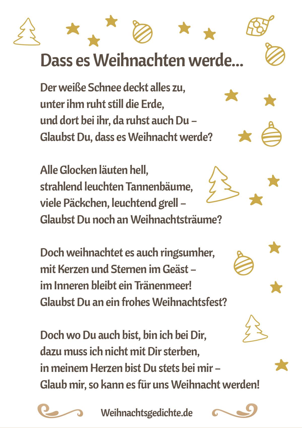 Lustige Weihnachtsgedichte Weihnachtsgeschichten.Weihnachtsgedichte Bilder Zum Versenden Als E Mail Oder Facebook